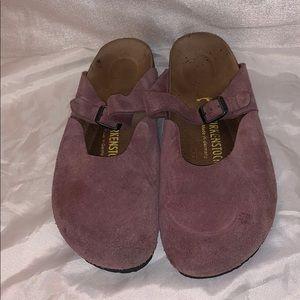 Birkenstock's Purple Clogs Sz 39 L8 M6